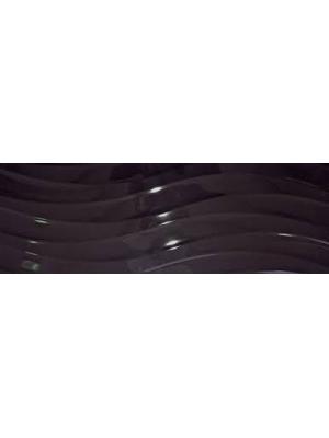BASIC ONDULADO BLANC/NEGRE 25X75